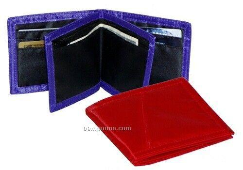 """Bi-fold Wallet W/ Removable Inside Wallet (4-1/2""""X4"""" Closed)"""