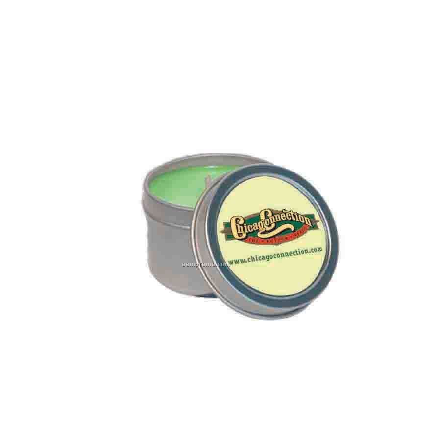 4 Oz. Baked Apple Round Tin Soy Candle