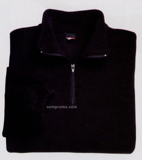 Quarter Zip Polar Fleece Jacket