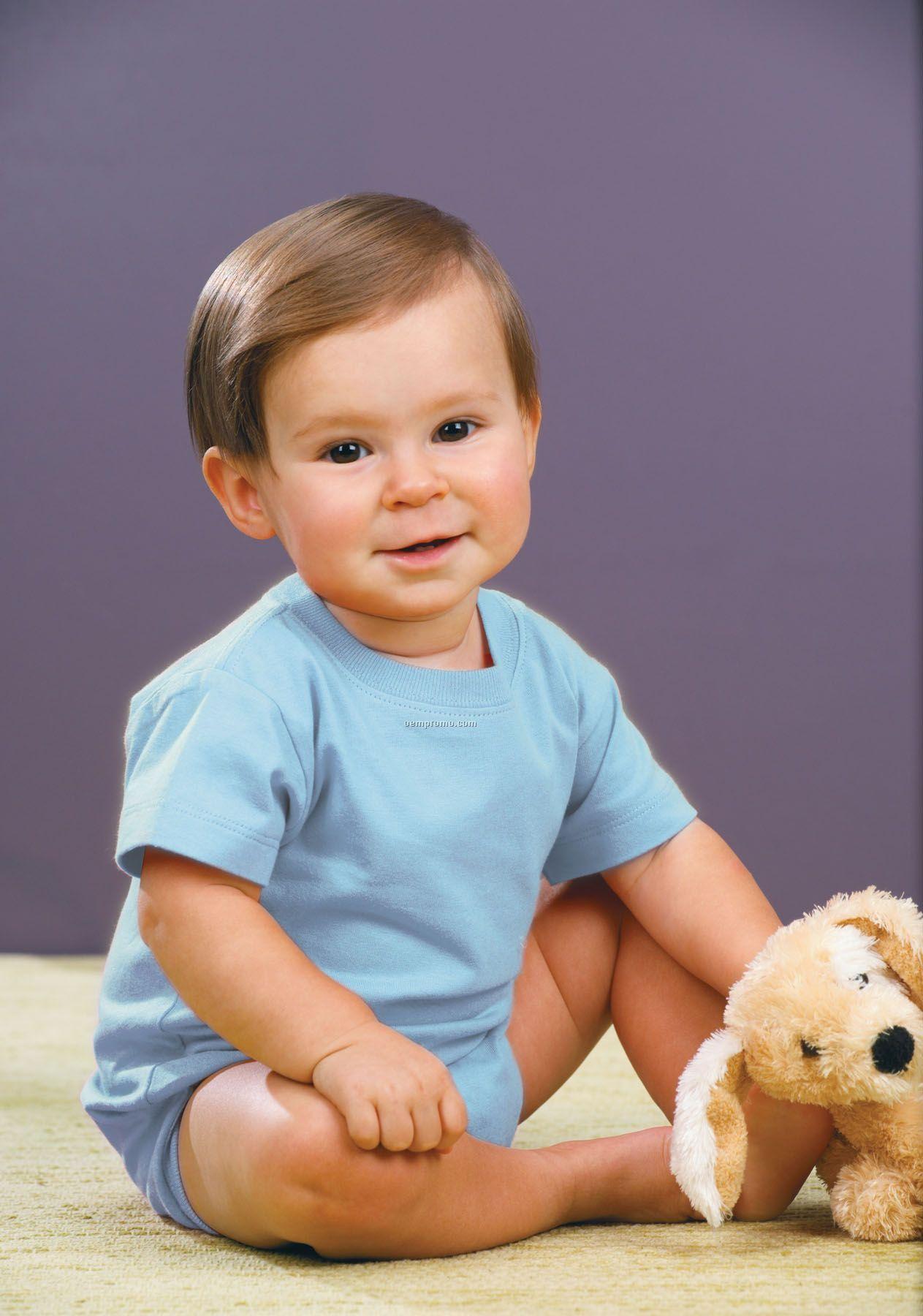 Rabbit Skins Infant Softy Creeper - Heather Grey
