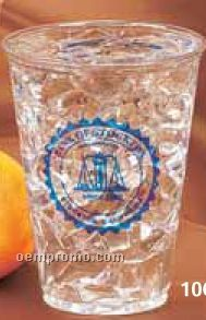10 Oz. Clear Medium Party Cup (High Speed Offset Printing)