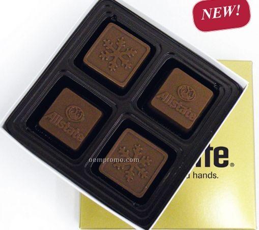8 Piece 4 Oz. Chocolate Squares