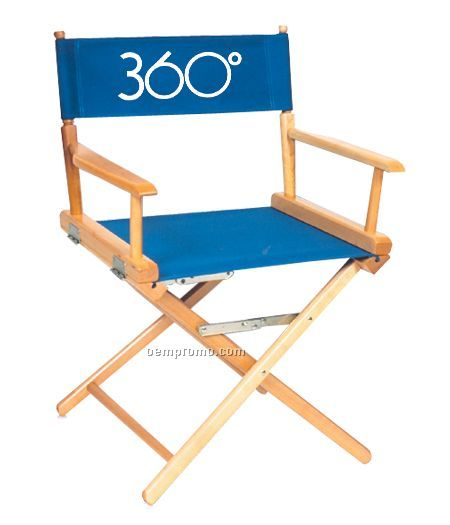 Standard Height Director's Chair (1 Color/Xpress Scan)