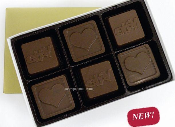 12 Piece 6 Oz. Chocolate Squares