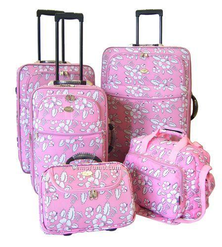 Hawaiian Luggage Sets Hawaiian 5 Piece Luggage Set