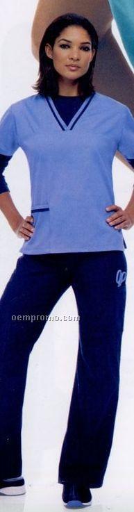 Urbane Essentials Women's Cargo Scrub Pants