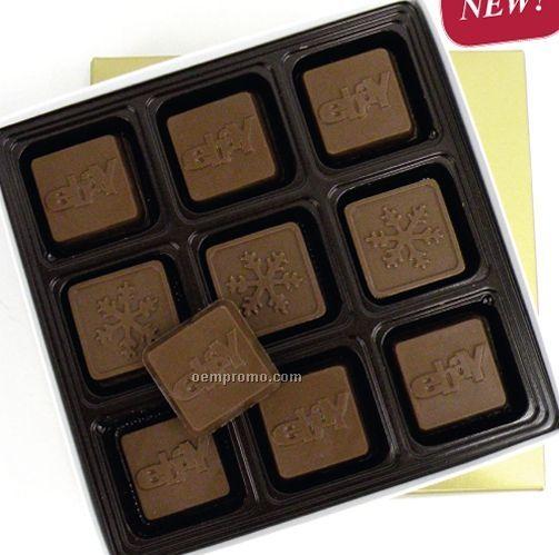 18 Piece 9 Oz. Chocolate Squares