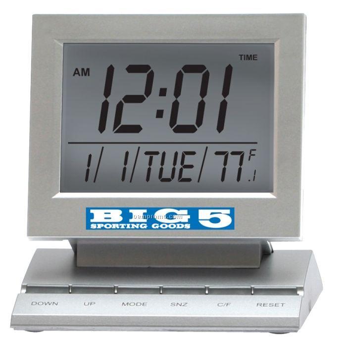 Multi Function Computer Monitor Style Alarm Clock