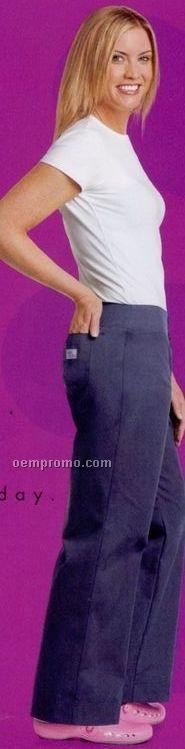 Women's Urbane Essentials Fitted Scrub Pants