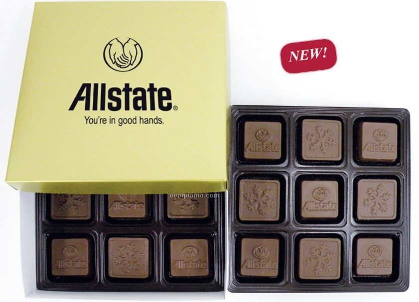 36 Piece Chocolate (18 Oz.) In Gift Box