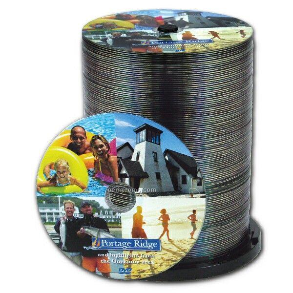 Duplicated And Printed DVD Duplication In Bulk