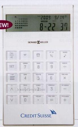 Howard Miller Global Time Calculator (Blank)