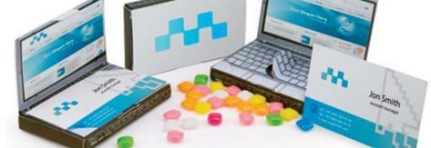 Slim Billboard Laptop Candy Box