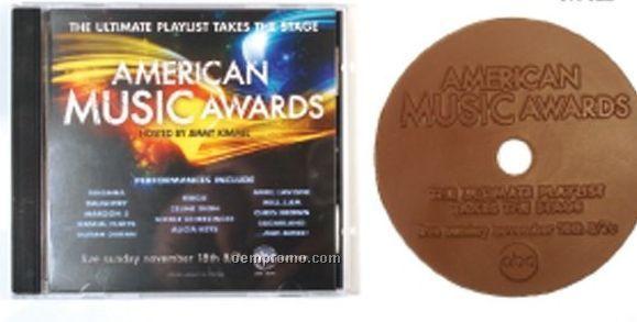2 Oz. Chocolate CD W/ Plastic Jewel Case