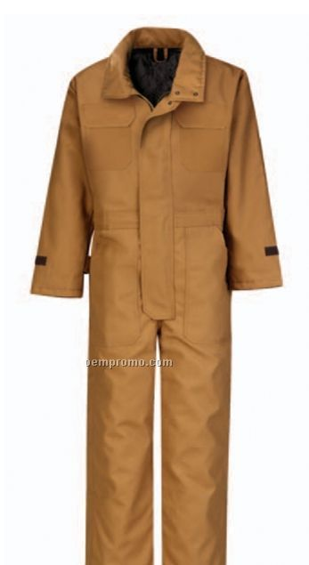 Men's Polyester/ Cotton Duck Insulated Blended Coverall