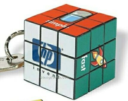 Custom Micro  Cube Key Holder
