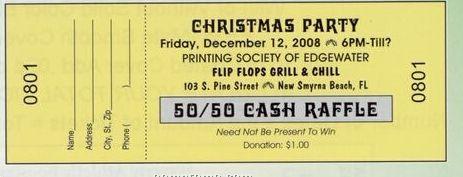 """Econo Tickets (2""""X5-1/2"""")"""