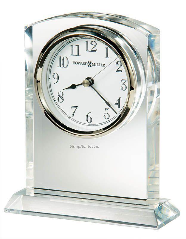 Flaire Crystal Award Clock