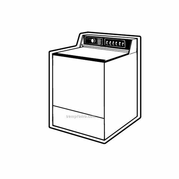 Stock Shape Washing Machine Recycled Magnet