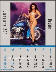 Biker Babes Magna Stick Calendar (After 8/1/2011)