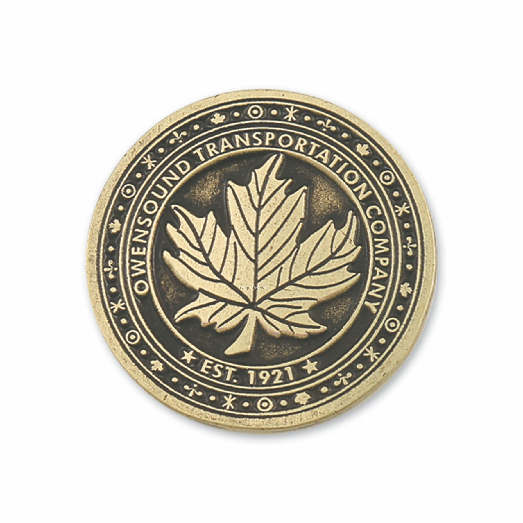 "Classic Custom Coin (1 1/2"")"