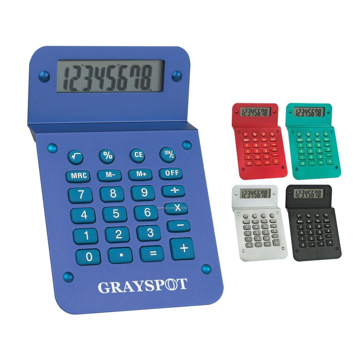 Metallic Calculator (Pad Printed)
