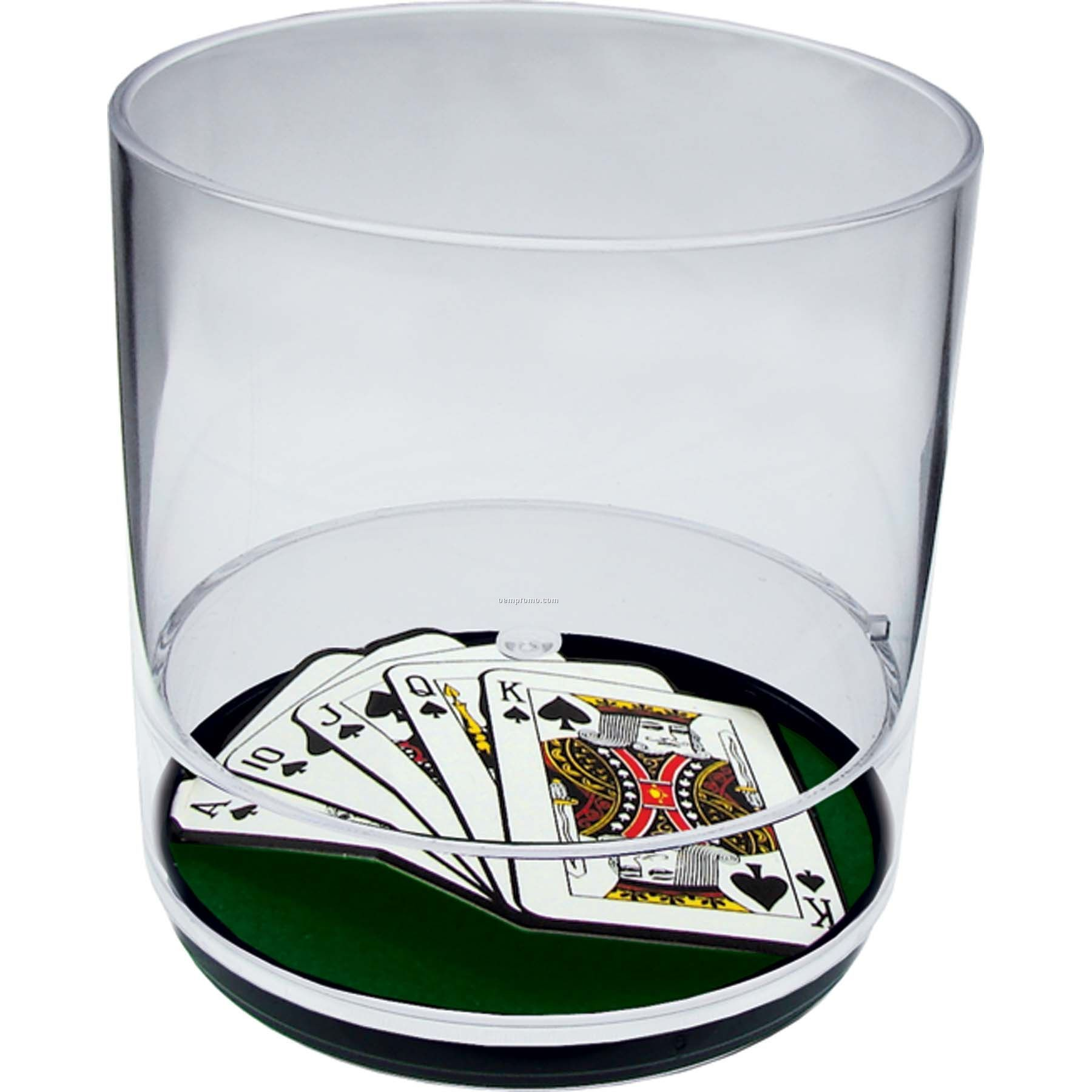 Royal Flush 12 Oz. Compartment Tumbler