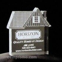 Acrylic Paperweight Up To 20 Square Inches / House 2