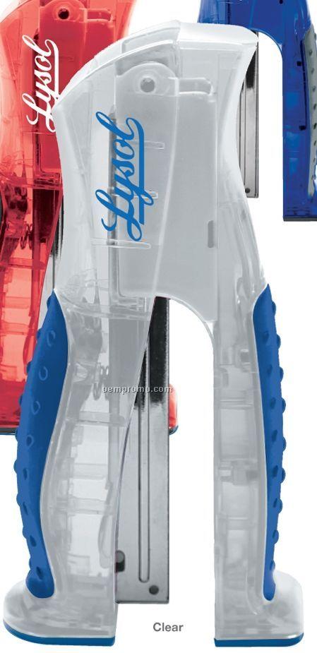 Translucent Ergonomic Stand-up Stapler