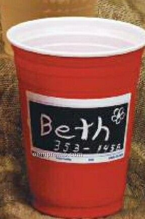 16-18 Oz. Etch-it Plastic Party Cup