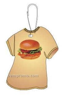 Chicken Sandwich T-shirt Zipper Pull