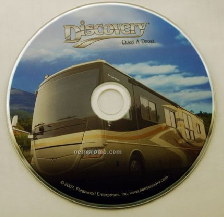 DVD Replication W/ Disc Print - Full Color (DVD 5)