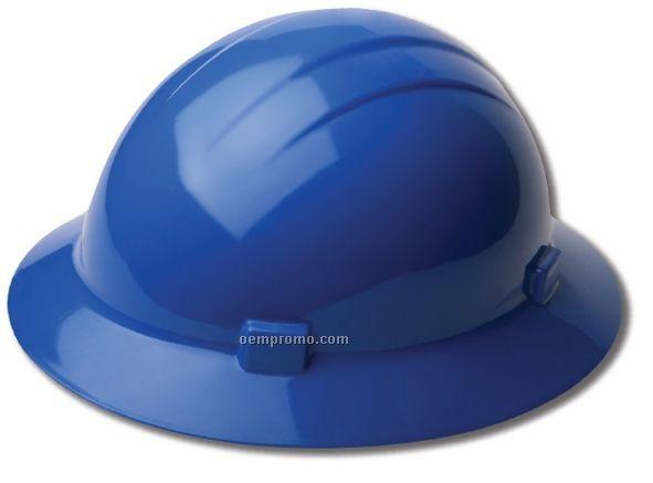 Americana Full Brim Hard Hat W/ Mega Ratchet Suspensions - Hi Viz Orange