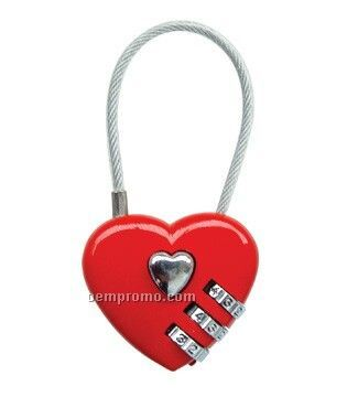 Heart Shaped Craft Lock