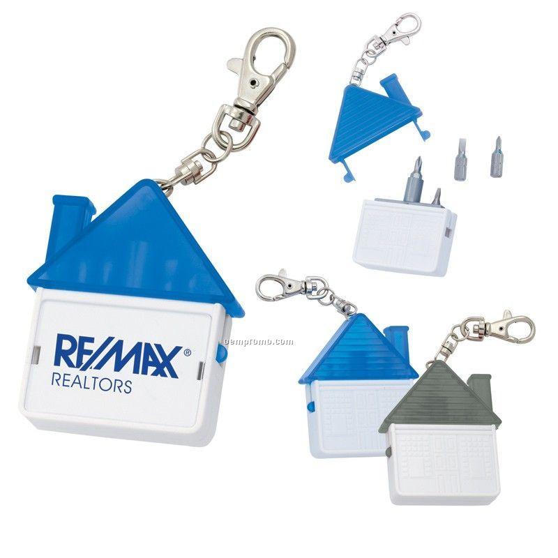 House Tool Kit Keychain