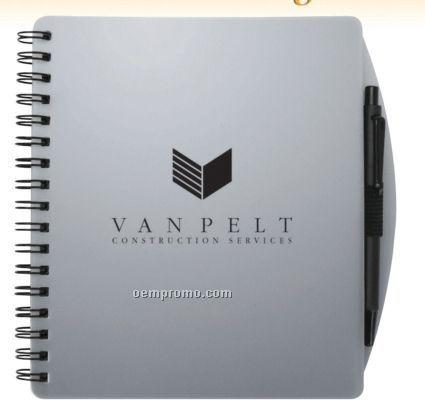Impact Notebook W/ Ballpoint Pen