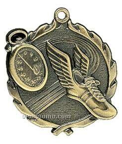"Medal, ""Track"" Wreath - 2-1/2"" Dia."