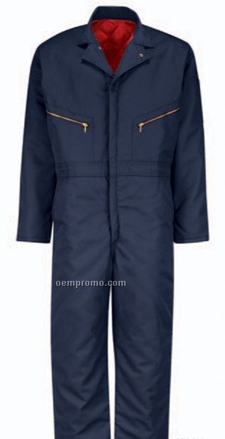 Men's Polyester/ Cotton Insulated Twill Coverall
