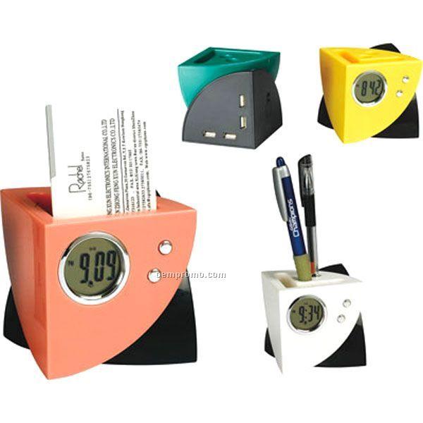 Muti-functional Penholder With USB Hub