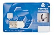 Credit Card Style Flash Drive W/Plastic Casing (512 Mb)