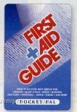 First Aid Guide Pocket Pal Brochure