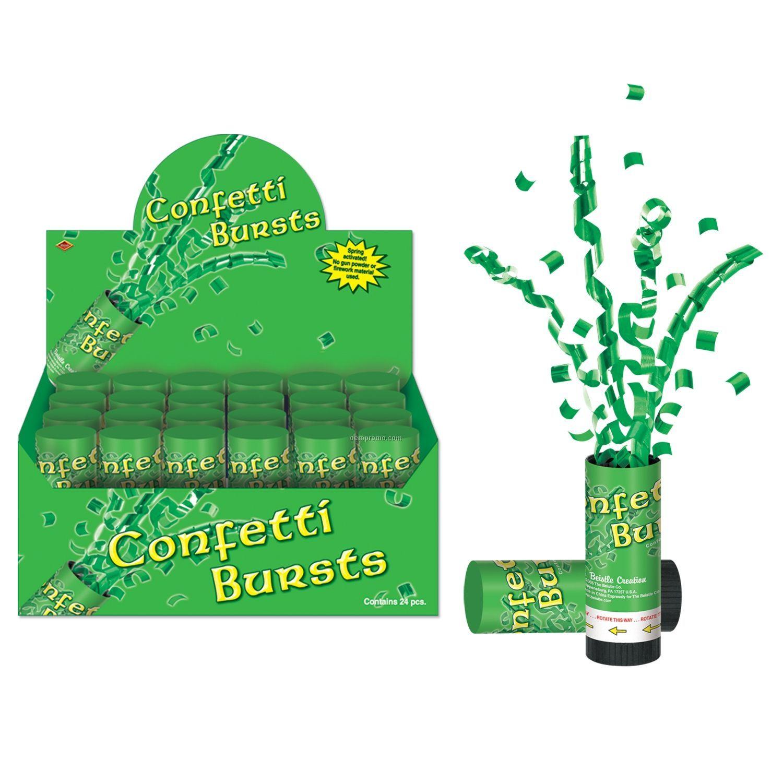 St. Patrick's Day Confetti Burst