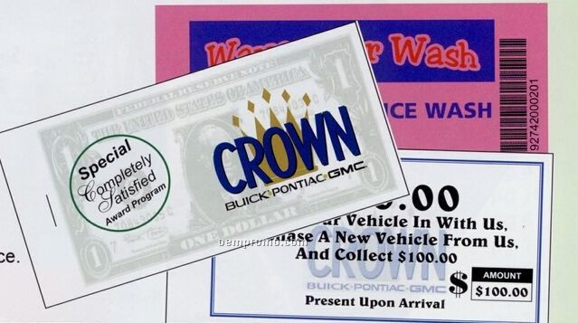 Bar Code / Car Wash / Coupon / Payment Books - (24 Page)