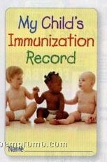 My Child's Immunization Record Pocket Pal (English)