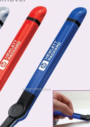 Translucent Staple Remover