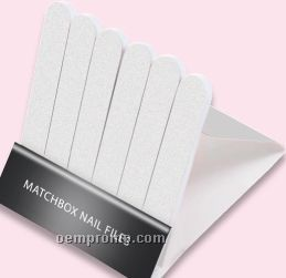 Matchbook Nail File