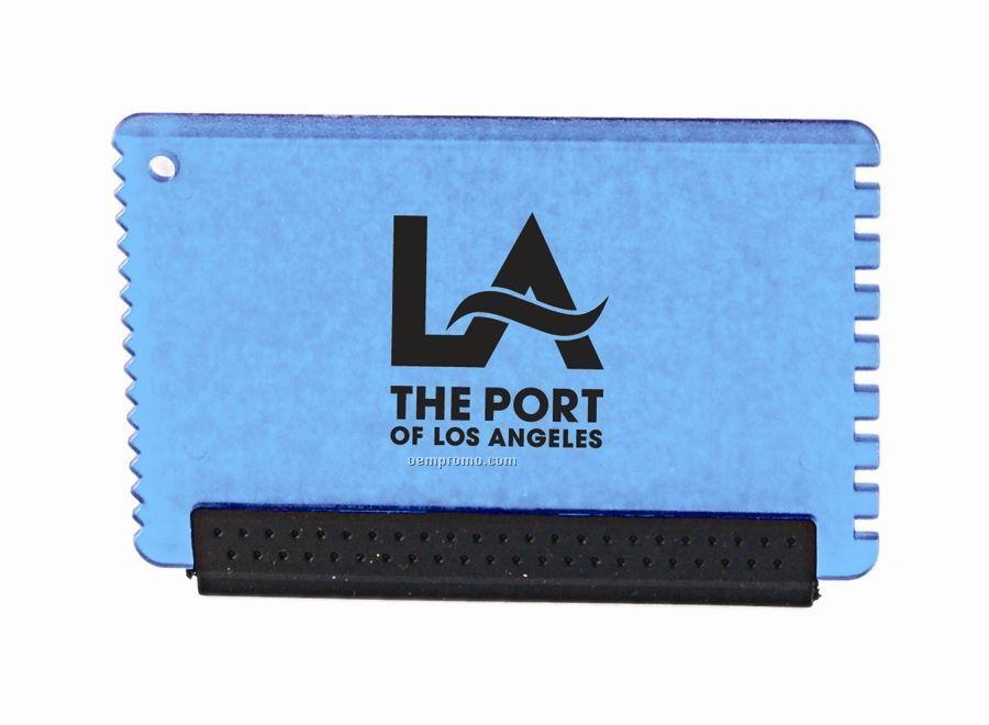 Mini Ice Scraper, Credit Card Size