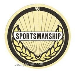 """Mylar - 2"""" Sportsmanship"""