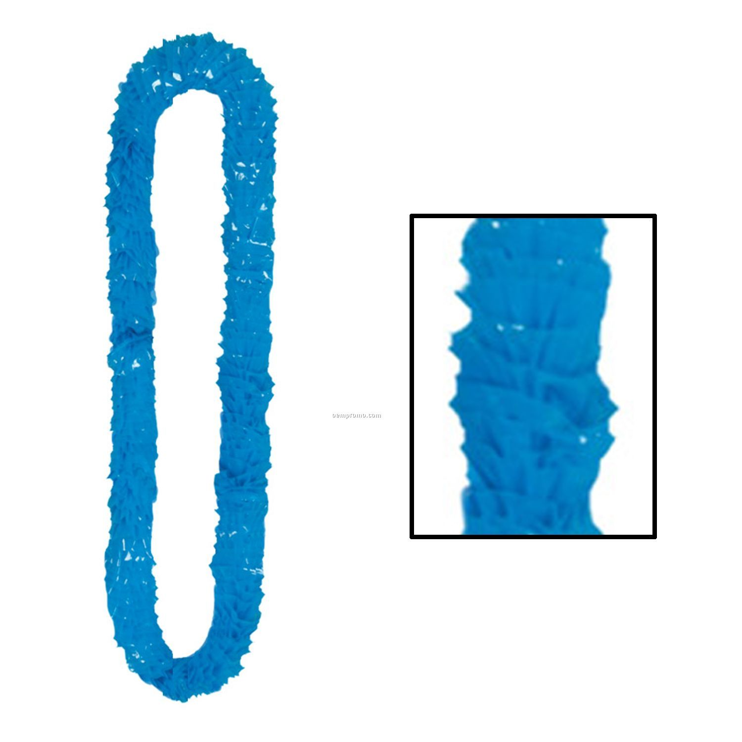 Soft Twist Solid Color Poly Leis