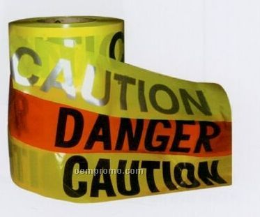 3a Safety Gear Caution Day/Night Barricade Tapes